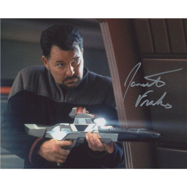 Jonathan Frakes/ Star Trek signed photo