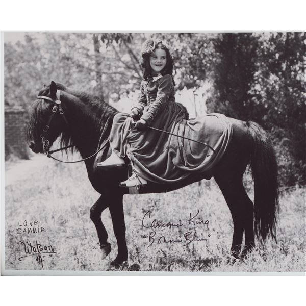 """Cammie King """"Gone With the Wind"""" signed movie photo"""