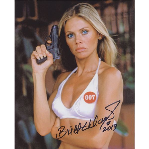 Britt Ekland signed movie photo