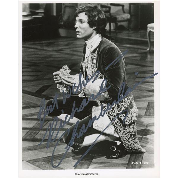 Richard Chamberlain signed movie still