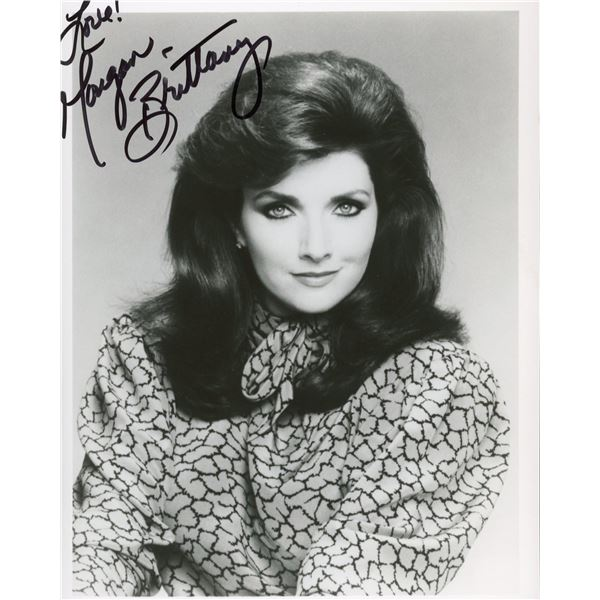 Morgan Brittany signed photo