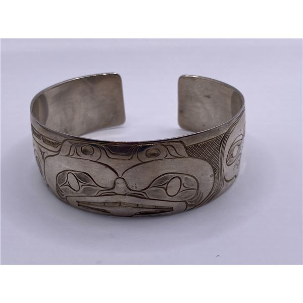 SILVER WEST COAST DOGFISH BRACELET BY MIRE BROWN