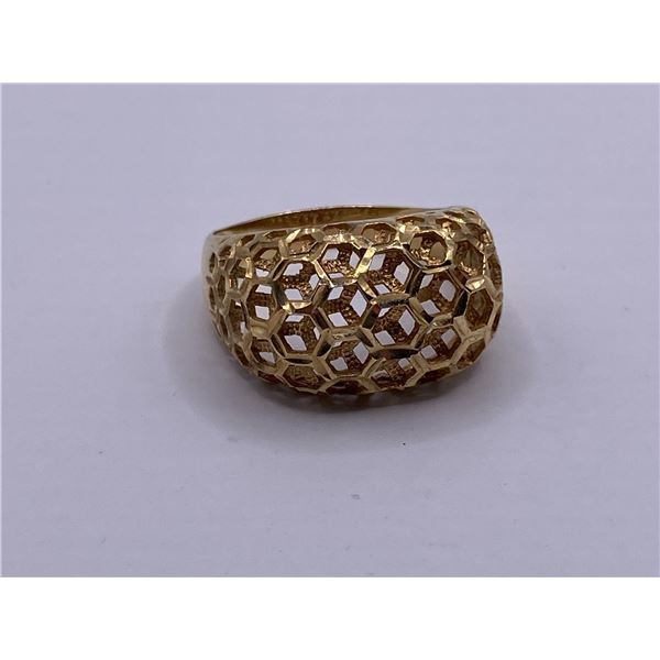 14K DOME STYLE RING