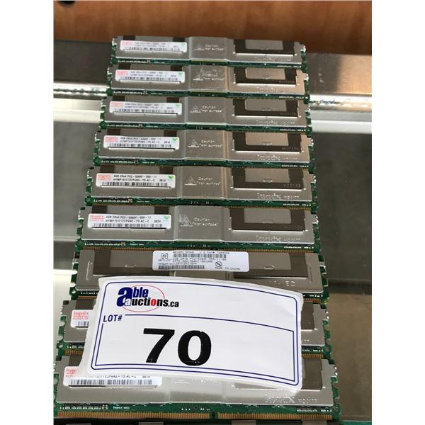 10 4GB DIMM MEMORY STICKS