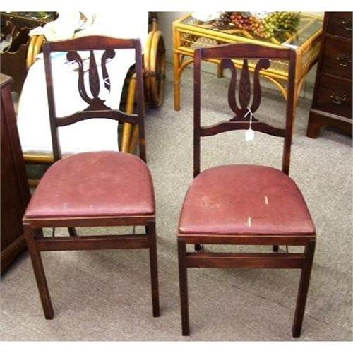 Stakmore Folding Chairs Vintage.2 Vintage Stakmore Folding Chairs Aristocrats 1882339
