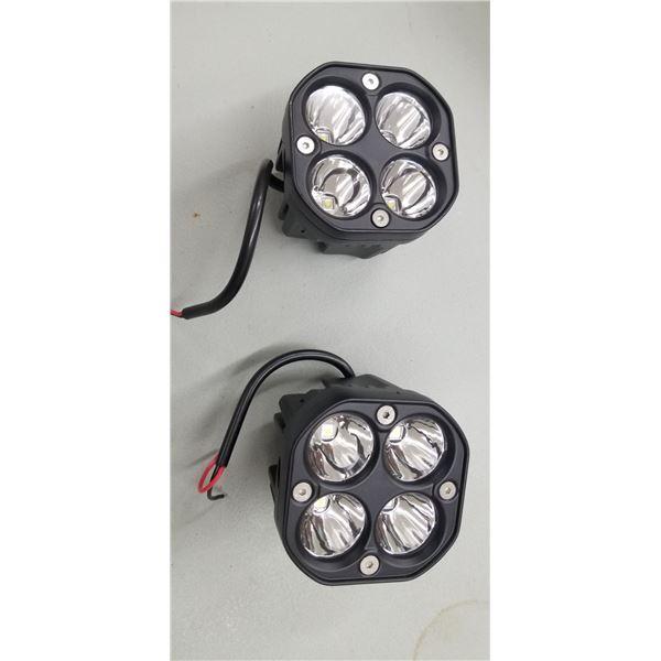 2 NEW WG 4051 LED LIGHTS 40 WATT 3 INCHES