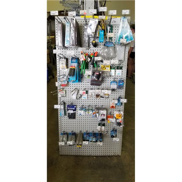 LARGE QUANTITY OF ASSORTED FISHNG TACKLE AND WEIGHTS RETAIL VALUE $2000.00