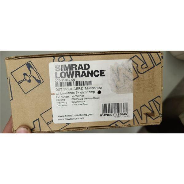 SIMRAD LOWRANCE WITH LOWRANCE 5K OHM TEMP