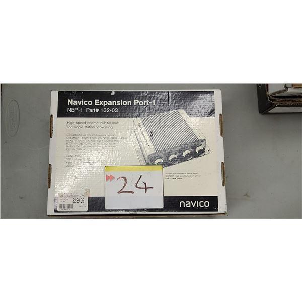 NAVICO EXPANSION PORT-1 PART #132-03 RETAIL VALUE $240.00