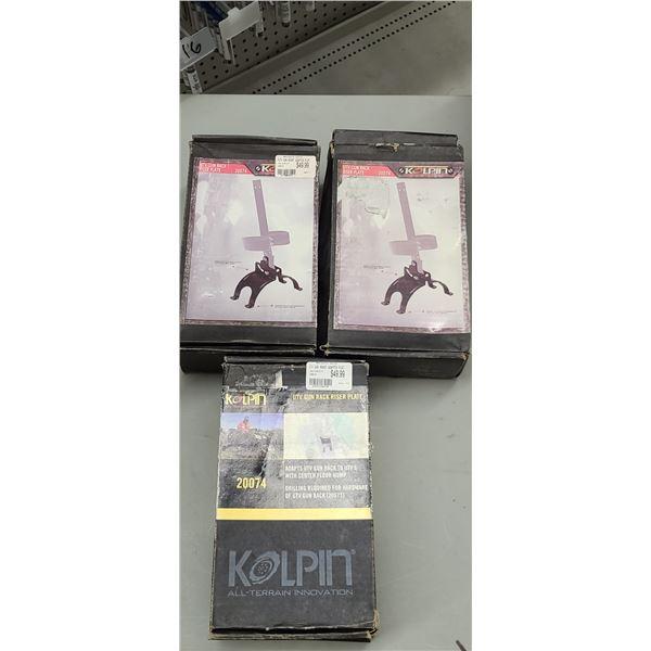 KOPLIN RISER PLATE RETAIL VALUE $50.00 X3