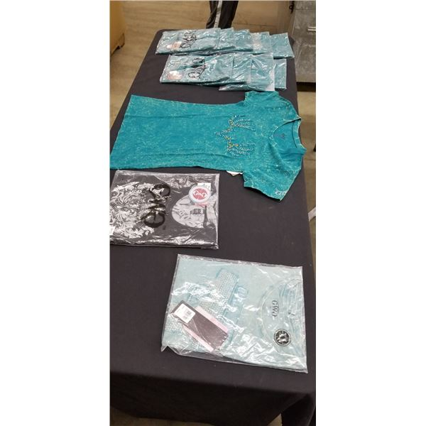 GIRLS WITH GUNS EXTRA LARGE T-SHIRTS AND LONG SLEEVE SHIRTS $39.99 PER SHIRT - TOTAL RETAIL $480
