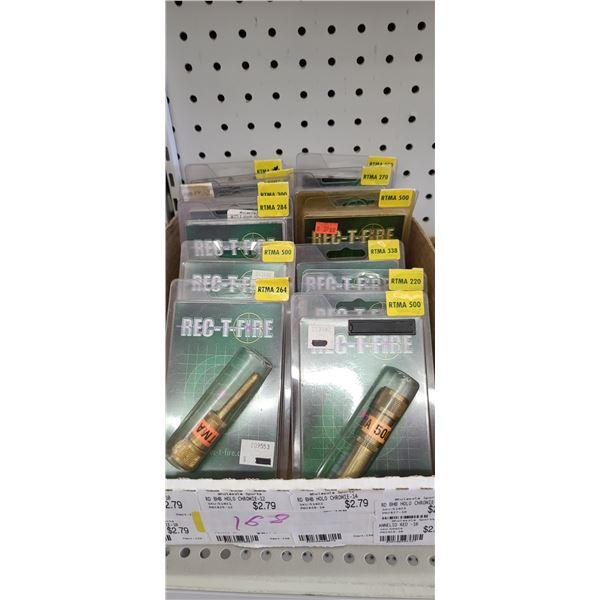 REC-T-FIRE MUZZLE ADAPTER QUANTITY OF 13 RETAIL VALUE $36