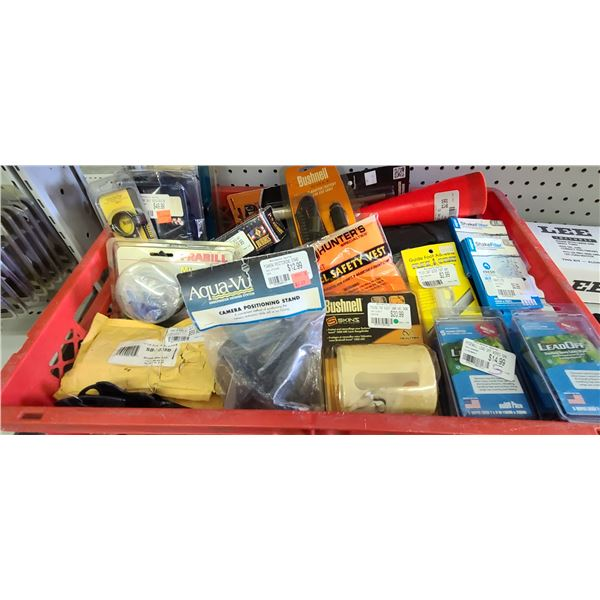 LARGE ASSORTMENT OF SCOPE RINGS/BASSES, LEAD OFF WIPES AND MORE PLEASE SEE IMAGES FOR MORE DETAIL
