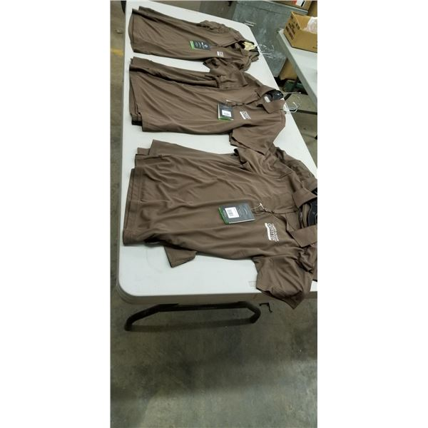 11 SMALL BROWN WHOLESALE SPORTS SHIRTS WOMENS $220