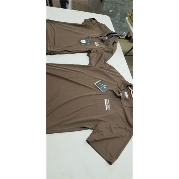 THREE MEDWOMENS AND TWO MENS WHOLE SALE SPORTS SHIRTS