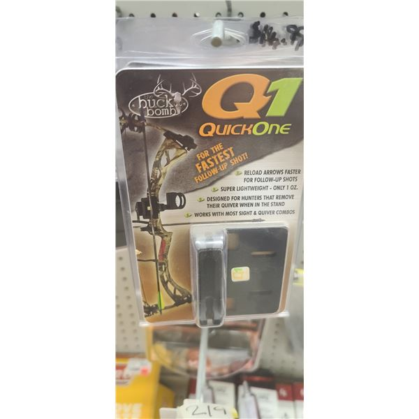 Q1 QUICK ONE QUIVER HOLDER QTY X 15 RETAIL VALUE $125
