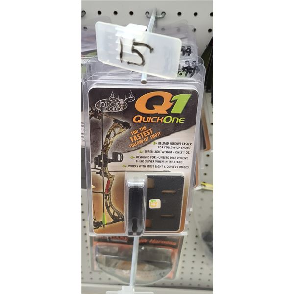SAUNDERS BOW TIP PROTECTORS FOR RECURVE BOW QTY 17 $85