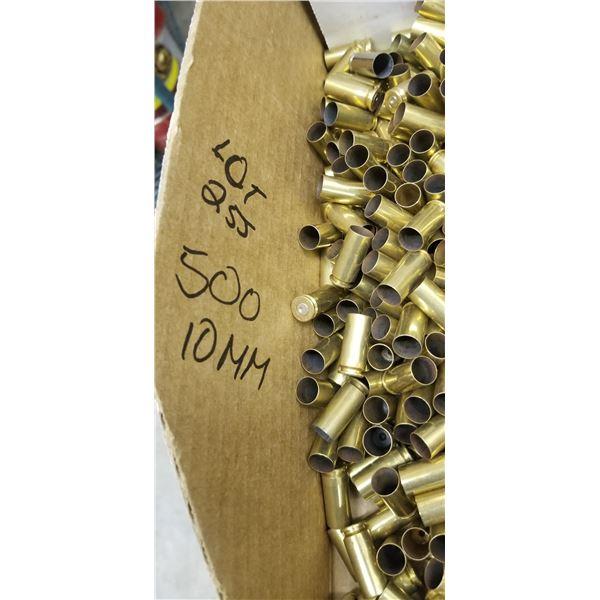 500 +/- 10MM BRASS, CLEAN CONDITION