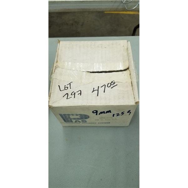BOX OF 1000 9MM 125 GRAIN CON BR (PAS)