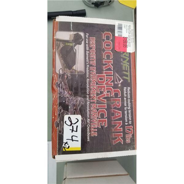 BARNETT CROSSBOW COCKING DEVICE QUANTITY OF 2 RETAIL VALUE $320