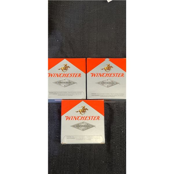 12GA SHELL- WINCHESTER 2 3/4 3 1 1/8 6SHOT QTY X 2, AND ONE PATRIAL BOX OF 18