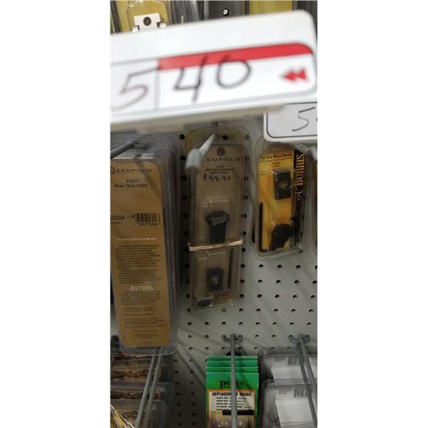 2 LEUPOLD BROWNING A-BOLT, SHOTGUN BASES #50037 RETAIL $200