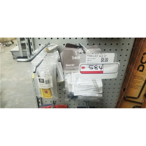 ASSORTED RUBBER REPAIR AND SEALER KITS +/- 40. RETAIL VALUE $300