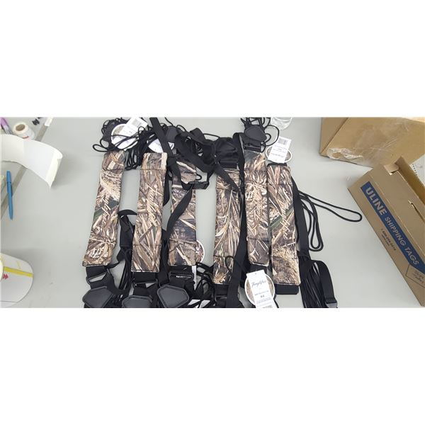 TANGE FREE AND REAL TREE WATER FOWL SLINGS QTY 5 AT $150
