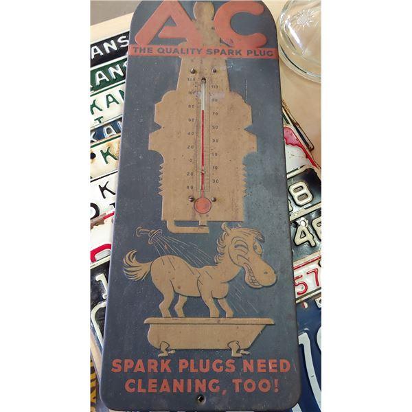 AC Spark Plug Advertising