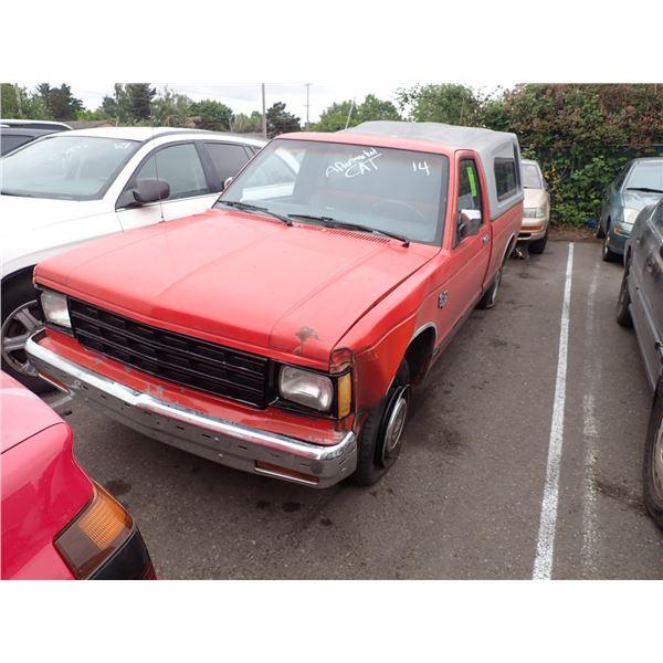 1984 Chevrolet S-10