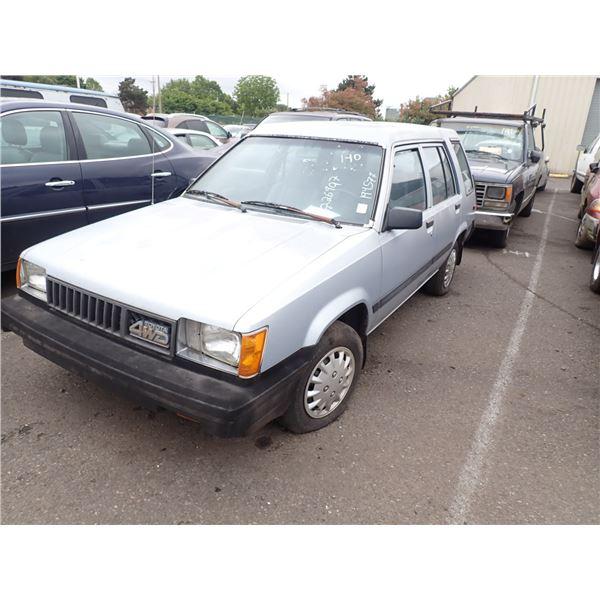 1986 Toyota Tercel