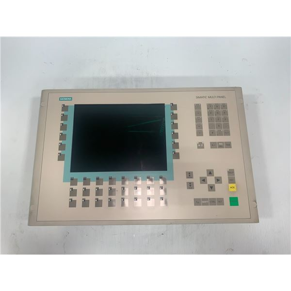 Siemens 6AV6 542-0AG10-0AX0 Multi Panel