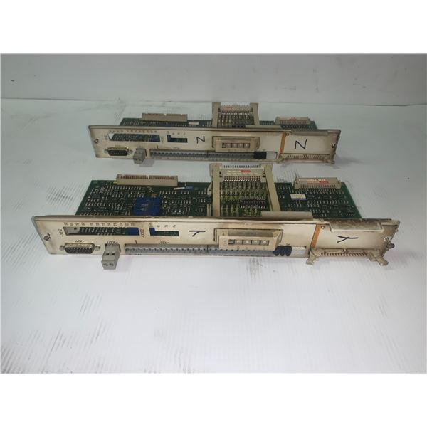 (2) Siemens 6SN1118-0AA11-0AA0 Circuit Board