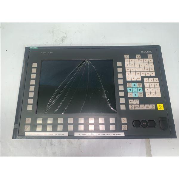 Siemens 1P 6FC5203-0AF02-0AA0 Sinumerik Operator Panelfront