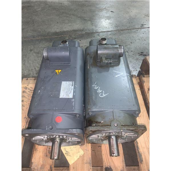 Siemens 1FT5102-0AC71-1-Z 3~ Brushless Servo Motor/Siemens 1FT5104-0AC71-1-Z Permanent Magnet Motor