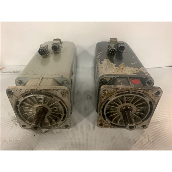 (2) Siemens 1FT5072-0AC71-1-Z Permanent Magnet Motor