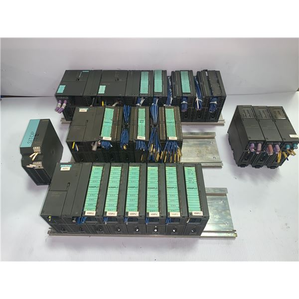 Lot of Misc. Siemens Input/Output Modules and Power Supplies