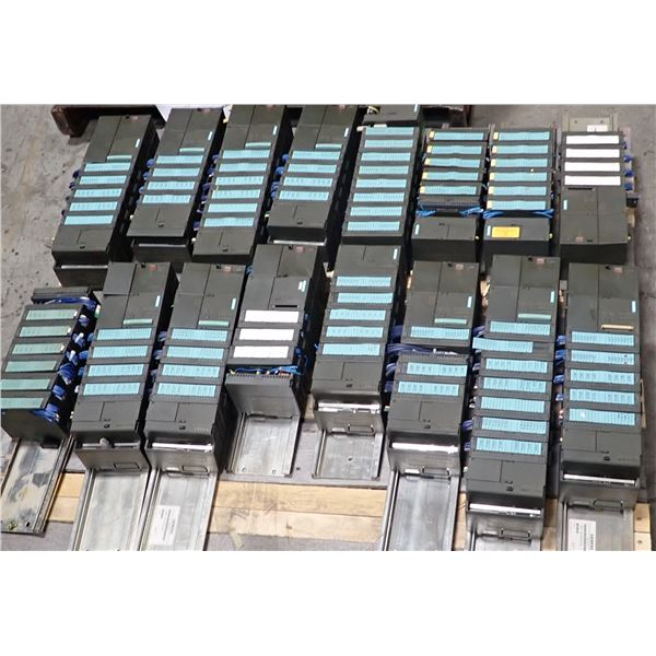 Skid of Siemens Racks w/ Modules