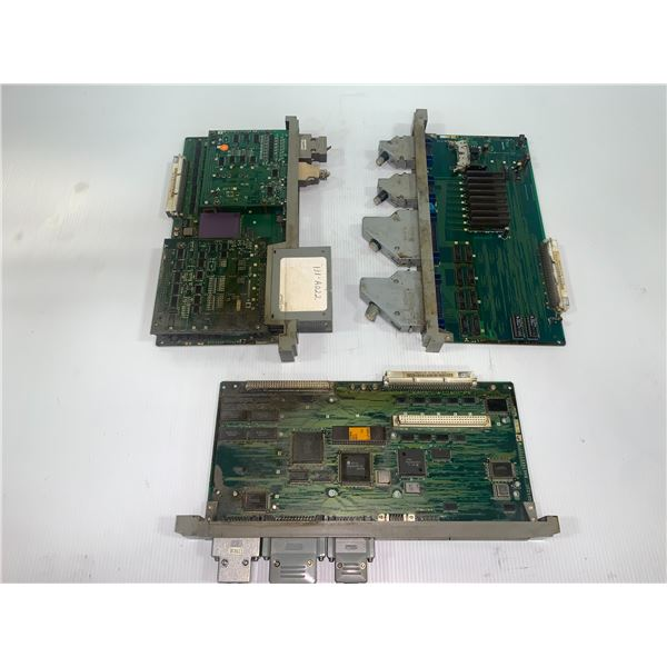 Lot of 3 Misc. Mitsubishi Circuit Boards