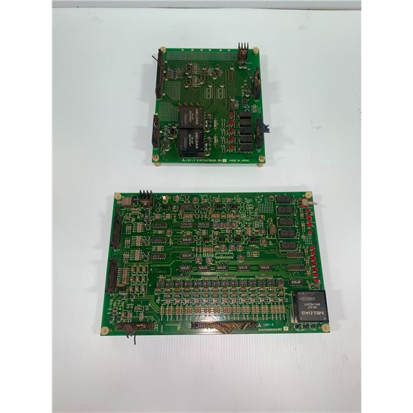 Lot of 2 Misc. Mitsubishi Circuit Boards