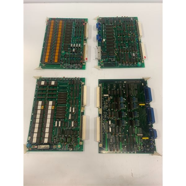 Lot of 4 Misc. Mitsubishi Circuit Boards