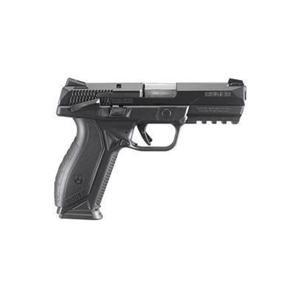 RUGER AMERICAN 9MM 4.2  17RD BLK TS
