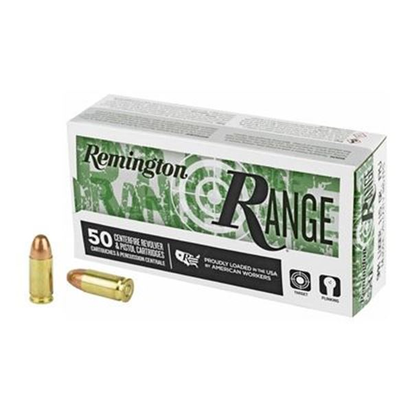 REM RANGE 9MM 115GR FMJ - 50 Rds