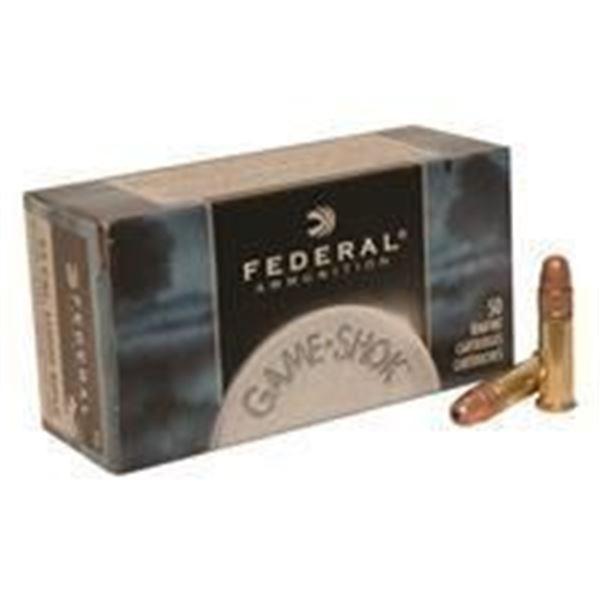 Federal, Game Shok, .22LR, CPHP, 38 Gr - 500 RDS