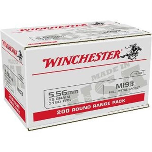 WIN LC 5.56MM 55GR M193 FMJ - 200 Rds