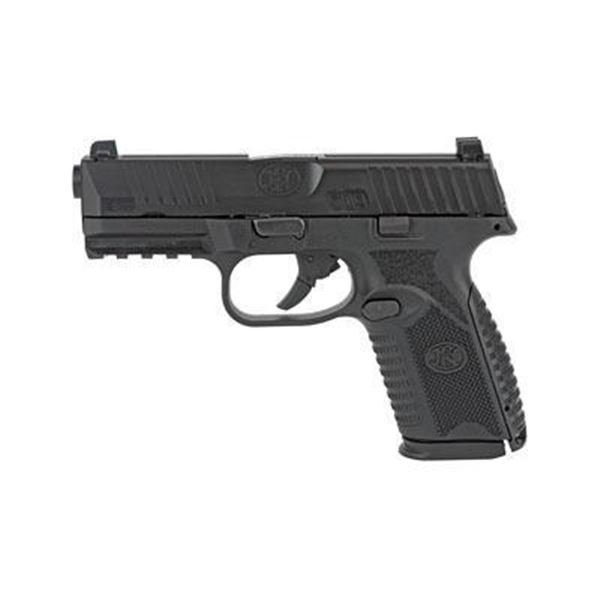 """FN 509 MIDSIZE 4"""" 9MM 15RD BLK"""