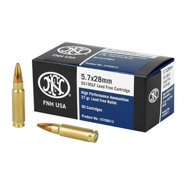 FN SS195LF 5.7X28MM 27GR - 50 Rds