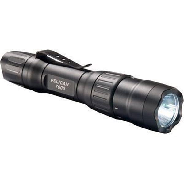PELICAN 7600 3 COLOR LED LI-ION BLK