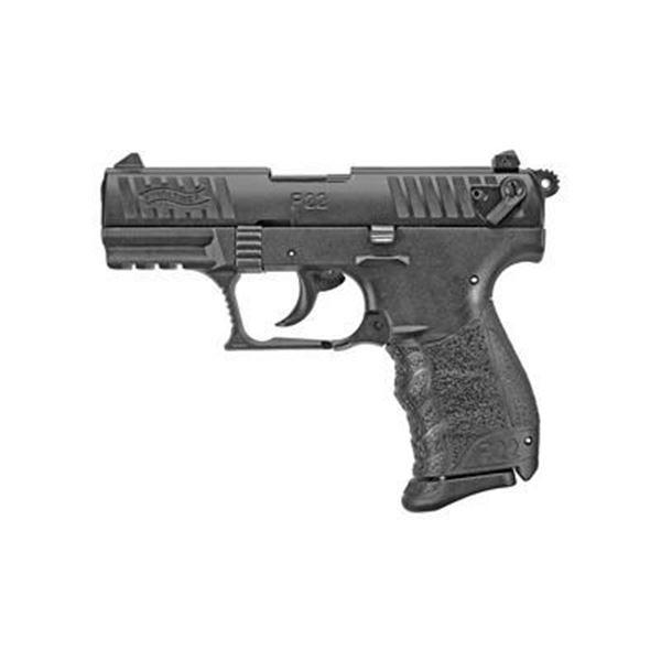 "WAL P22Q 22LR 3.42"" BLACK 10RD"