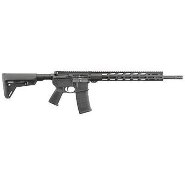 """RUGER AR-556 MPR 556 18"""" BLK 30RD"""